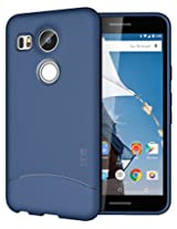 TUDIA Ultra Slim Full-Matte ARCH TPU Bumper Protective Case for Nexus 5X (2015) (Blue)