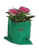 Greenbo Fabric Planter Case (9.5 inch X 9.5 inch X 8.4, Green)