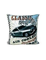 Car Print Cushion Cover ( 1pc)