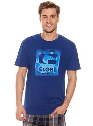Globe Camiseta Overpaint (Azul)
