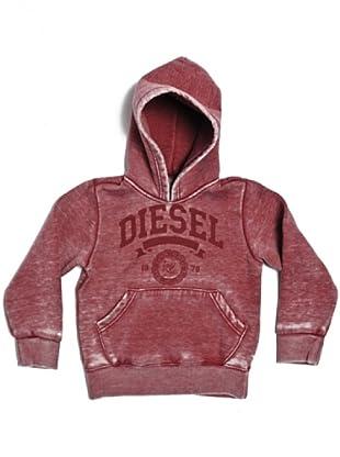 Diesel Kid Hoodie Saadk (Rot)