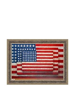 Jasper Johns: Three Flags