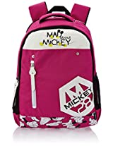 "Genius Nylon Children's Backpack (GT 1508 - 19""-PINK)"