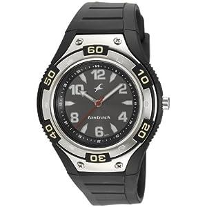 Fastrack Analog Black Dial Men's Watch - NE9333PP02J