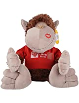 Archies Monkey with T-shirt (Brown)