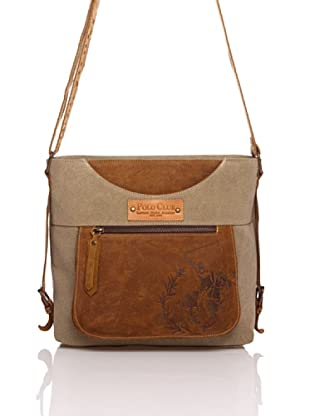 Polo Club Messenger Bag Wyoming 29x24x9 cm (Beige)