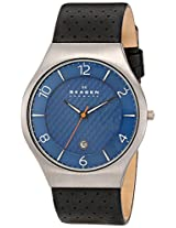 Skagen Grenen Analog Blue Dial Men's Watch - SKW6148