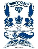 StacheTATS Toronto Maple Leafs Temporary Mustache Tattoos