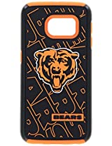 Forever Collectibles - Licensed NFL Cell Phone Case for Samsung Galaxy S6 Edge - Retail Packaging - Chicago Bears