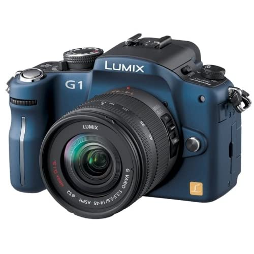 Panasonic デジタル一眼レフカメラ LUMIX (ルミックス) G1 レンズキット コンフォートブルー DMC-G1K-A