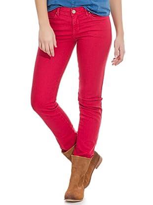 Springfield Pantalón Bs.De90Slim (Ga (Rojo)