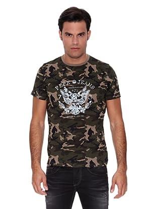 Pepe Jeans London Camiseta Draco (Verde Militar)