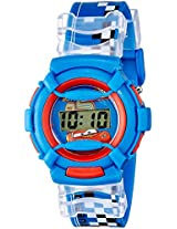 Disney Digital Blue Dial Boy's Watch - DW100471