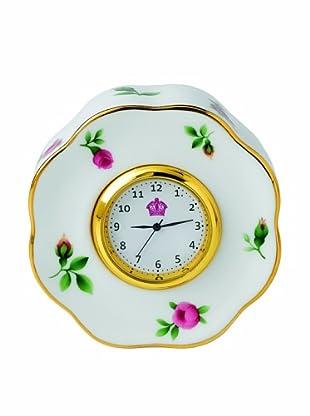 Royal Albert New Country Roses Clock, White