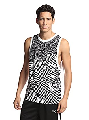 PUMA Men's Clash Tank (White)