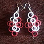 MultiColor Paper Quilled Fashion Jhumki Earring