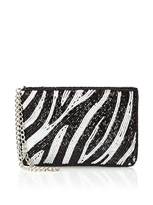 Inge Christopher Women's Nairobi Beaded Wristlet, Zebra