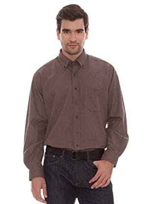 Marengo Camisa Lisa (Marrón)