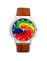 ORNIX Multi-Colour Dial Analogue Watch for Men (ORNIX-COLOR-102)