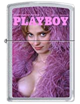 Zippo Playboy June 1974 Cover Satin Chrome Windproof Lighter NEW RARE