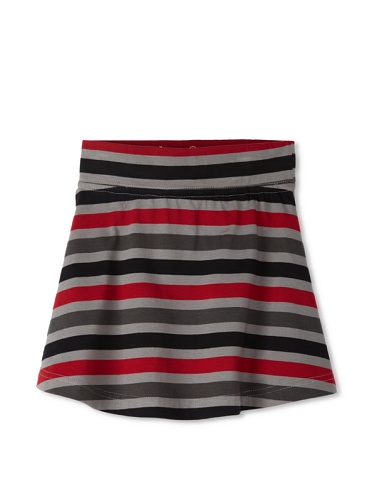 Soft Clothing Girl's Tuileries Mini Skirt (Red)
