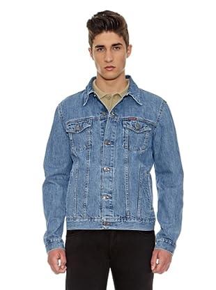Carrera Jeans Cazadora Giubbino Western (Azul Lavado)