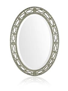 Uttermost Candela Oval Mirror, Silver