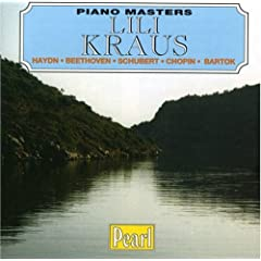 Piano Masters - Hadyn; Beethoven; Schubert; Chopin; Bartok / Lili Kraus