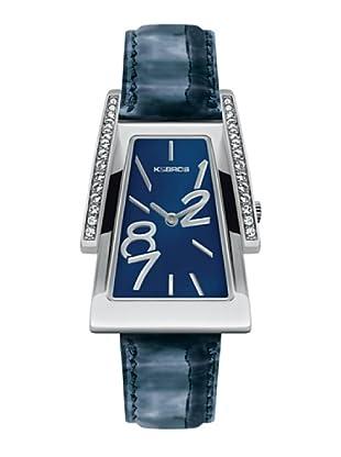 K&BROS 9155-2 / Reloj de Señora  con correa de piel azul