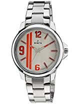 Aveiro Casual Analog Silver Men's Watch (AV4SMSLSM)