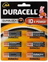 Duracell AA Alkaline MN1500-LR06 1.5V Dec 2023 (6PCS)