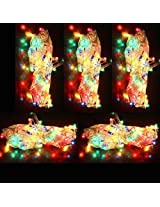 Pack of 7 Multi Color Rice Lights | Serial Bulbs For Decoration(By - GamerSpotIndia)
