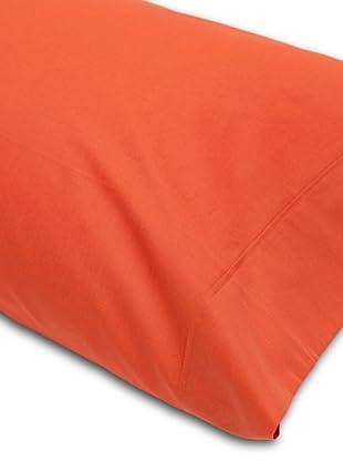 Abecé Funda de almohada Lisa (Caldera)