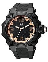 Q&Q Analog Grey Dial Unisex Watch - VR56J006Y