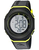Quiksilver Digital Black Dial Men's Watch - QS-1019-BKGN