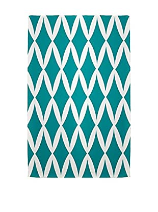 e by design Diamond Rug, Blue