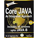 Core JAVA : An Integrated Approach 1 Edition price comparison at Flipkart, Amazon, Crossword, Uread, Bookadda, Landmark, Homeshop18