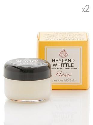 Heyland&Whittle Set 2 Bálsamos Labios Miel 15 g/u