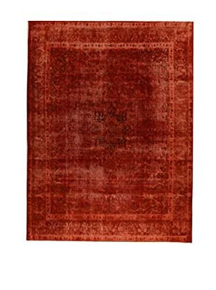 Design Community by Loomier Alfombra Revive Vintage Burdeos 379 x 282 cm