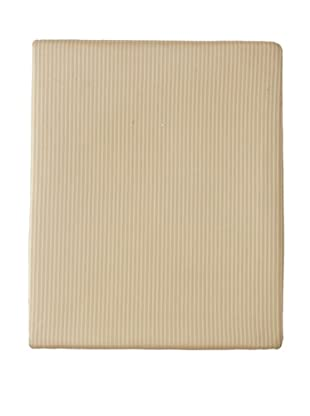 Home Treasures Victoria Striped Fitted Sheet (Gold/Blue)