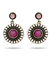 Via Mazzini Violet Indian Summer Earrings