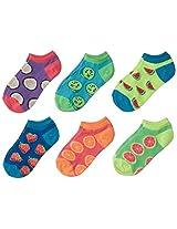 K. Bell Socks Little Girls' Fruity 2 Pack NS