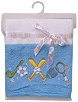 Mee Mee MM-98021 Baby Wrapper/Blanket (Blue)