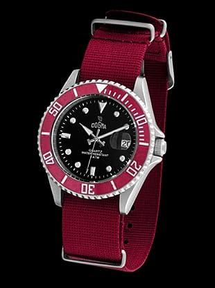 Dogma G7025 - Reloj Señora Movimiento Quarzo Correa Textil Rojo