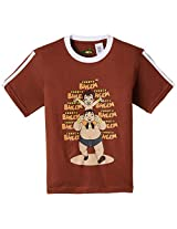 Chhota Bheem Boys T-Shirt (GGAPP-CB 221 A Brown_2-3 years)