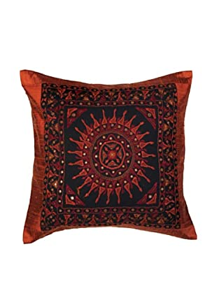 Mela Artisans Surya  Cushion Cover (Red)