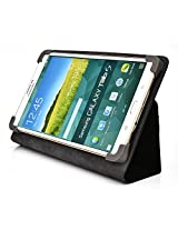 Kroo Universal Multi Fit 6 to 8 Inch Tablet Folio Case, Black (MU08EXK1-8345)
