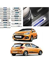Car Door LED Sill Scuff Plate FootSteps for Hyundai i10 Grand New Model