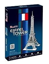 Frank Cubic Fun Eiffel Tower 3D Puzzle C705h