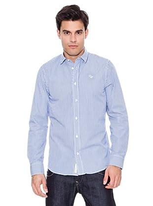 Pepe Jeans London Camisa Pelham (Marino / Blanco)